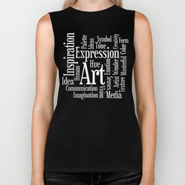 Art and Creativity Biker Tank