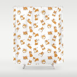 Cute as Hecc Shower Curtain