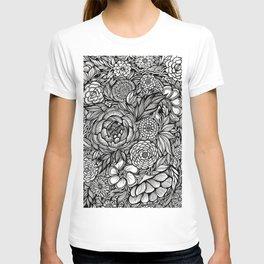 Peony Fascination T-shirt