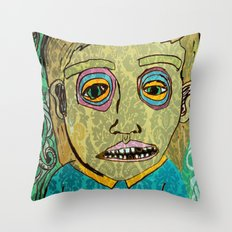 cigarettes and food  Throw Pillow