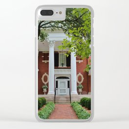 Kenan House Front View Clear iPhone Case