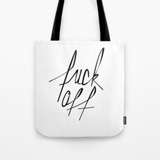 Typography 01 Tote Bag