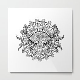 Cancer Mantra Metal Print