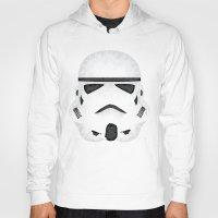 trooper Hoodies featuring Trooper by Charles Dew