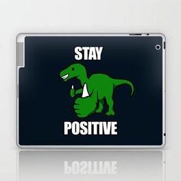 Stay Positive Iguanodon Laptop & iPad Skin