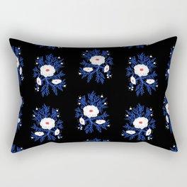 FrostBloom Rectangular Pillow