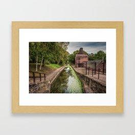 Shropshire Canal Framed Art Print