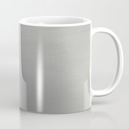 Brushed Metal Coffee Mug