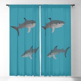 Sharks Blackout Curtain
