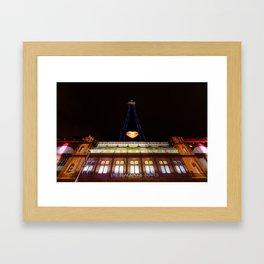 The Blackpool Tower Framed Art Print