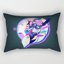 Lady O Rectangular Pillow