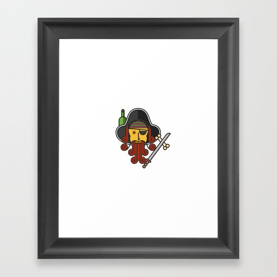 Arrrrr Framed Art Print