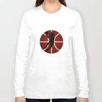 lakers Long Sleeve T-shirts featuring SLAM DUNK - JORDAN by alexa