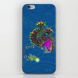Electric Angler Fish iPhone Skin