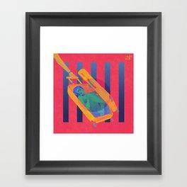 Let Be Friend Framed Art Print