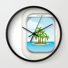 ALOHA good life! Wall Clock
