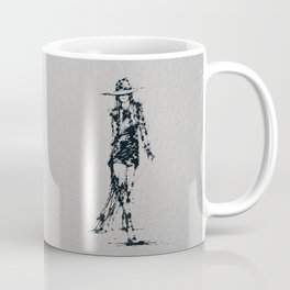 Splaaash Series - Fashion Walk Ink Coffee Mug