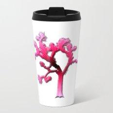 Joshua Tree Strawberry Metal Travel Mug