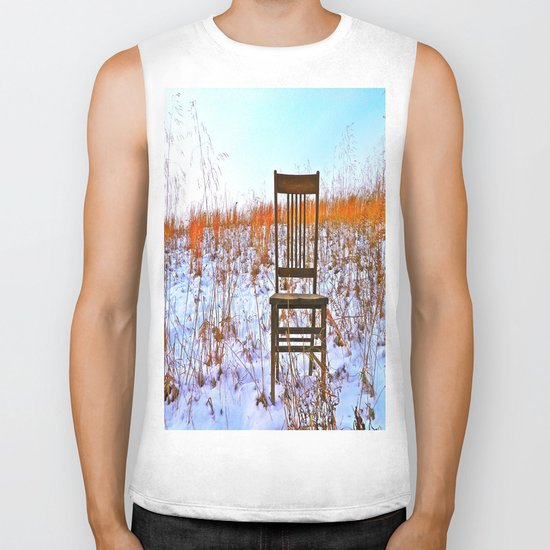Winter Can Be Lonely Biker Tank