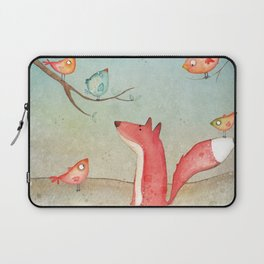 Gabriel's tales: Fox and the birds Laptop Sleeve
