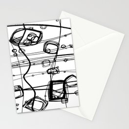 Doodle Love 3A by kathy Morton Stanion Stationery Cards