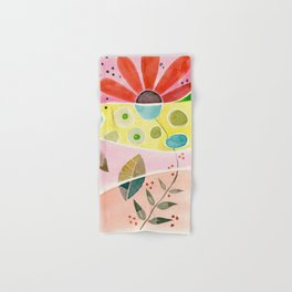 watercolor Hand & Bath Towel