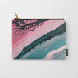 ECHO BEACH BABY | Acrylic abstract art by Natalie Burnett Art Carry-All Pouch