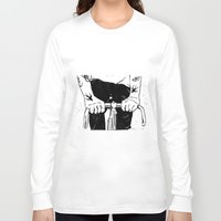 grease Long Sleeve T-shirts featuring Ink & Grease by lucciole