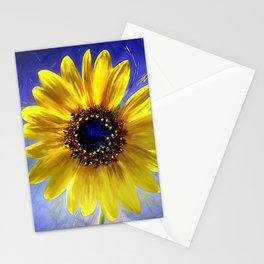 Sunflower Azul Stationery Cards