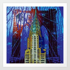 NYC Icons Art Print