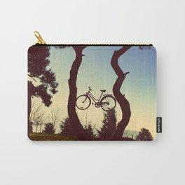 Bicycle Tree Carry-All Pouch