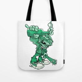 Anarchy Skeleton - Mountain Meadow Tote Bag