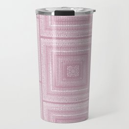 Dusty Rose Drawing Therapy Travel Mug