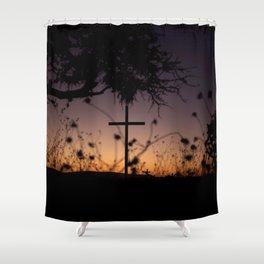 Desert Cross Shower Curtain