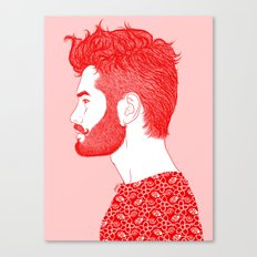 Red Beard Canvas Print