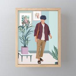 For the Gram Framed Mini Art Print