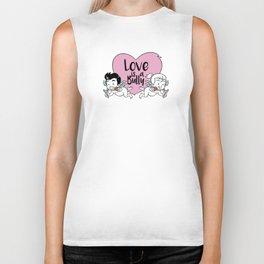 Love is a Bully Biker Tank