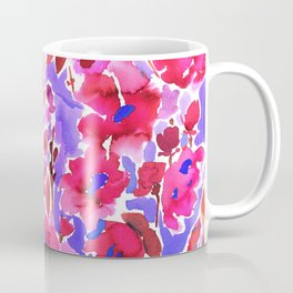 Isla Floral Purple Coffee Mug