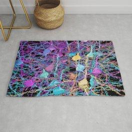 Cortical Brain Neurons by Kfay Rug