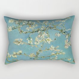 Vincent Van Gogh - Almond Blossoms Rectangular Pillow