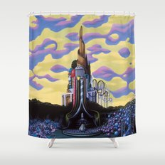 Our Monument To Each Pressing Memory Shower Curtain
