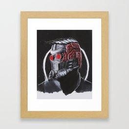 In Star-Lord we Trust Framed Art Print