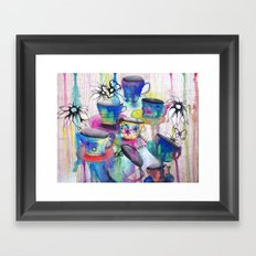 Tea Party Framed Art Print