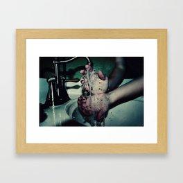 Slipping Through Your Fingers Framed Art Print