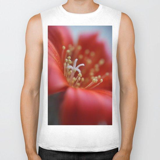 Cacti Flower Biker Tank