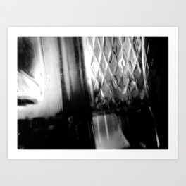 Describe Where You Are _1 Art Print