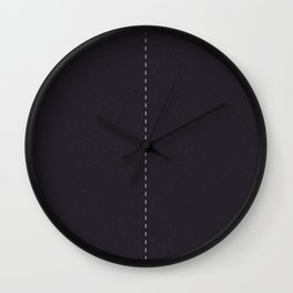 Road Two lanes Wall Clock
