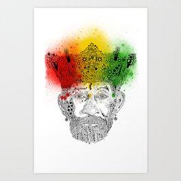 King of Arts Art Print