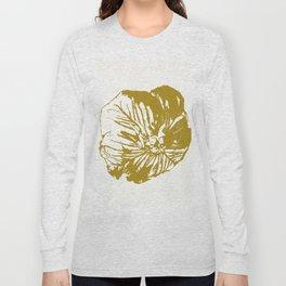 Minimal Yellow Long Sleeve T-shirt
