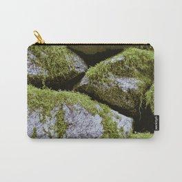 Moss, Rocks, Moss Carry-All Pouch